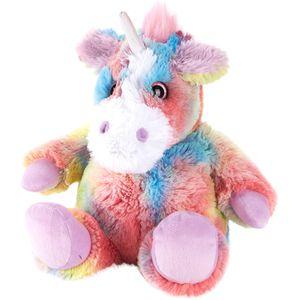 Warmies Plush - Rainbow Unicorn (Microwaveable)