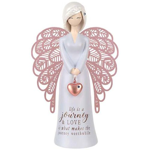 You Are An Angel Figurine - Life Is A Journey & Love Is What Makes The Journey Worthwhile