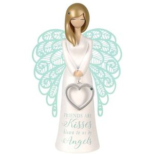 You Are An Angel Figurine - Friends Are Angel Kisses
