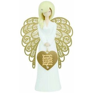 You Are An Angel Figurine - Live Dream Love Laugh