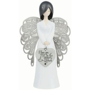 You Are An Angel Figurine - Love You to the Moon & Back