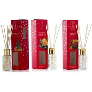 Ashleigh & Burwood Earth Secrets Reed Diffuser Set 3 x 50ml - Winter Collection