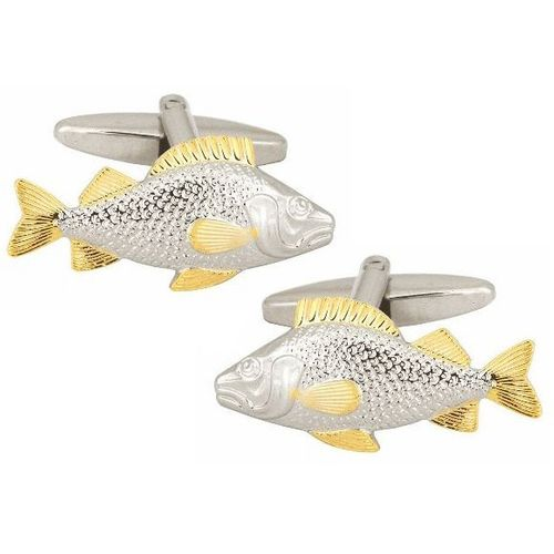 Fishing Cufflinks 3 Pair Gift Set CKS025