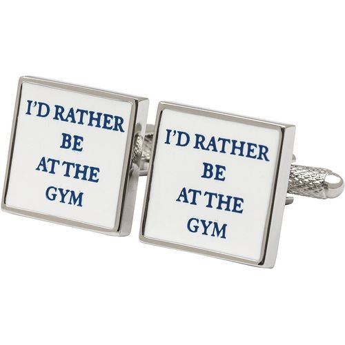 At The Gym Cufflinks 3 Pair Gift Set