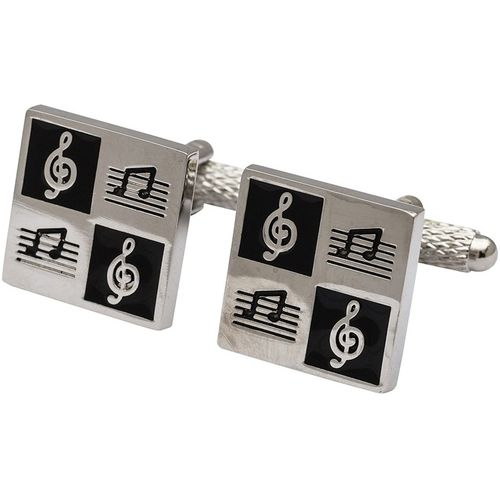 Onyx Art of London Guitar Music Cufflinks 3 Pair Gift Set