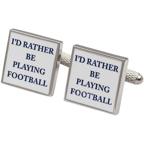 Football Cufflinks 3 Pair Gift Set CKS001