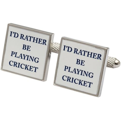 Cricket Cufflinks 3 Pair Gift Set CKS003