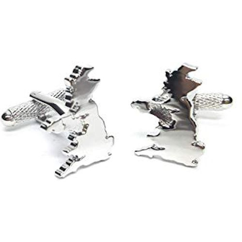 British United Kingdom Cufflinks 3 Pair Gift Set