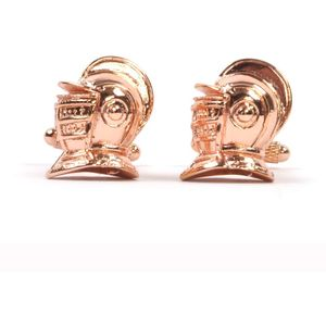 Armour Helmet Cufflinks