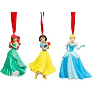 Disney Christmas Hanging Tree Decorations (3 Pack)