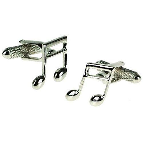 Onyx Art of London Musical Notes Cufflinks 3 Pair Gift Set