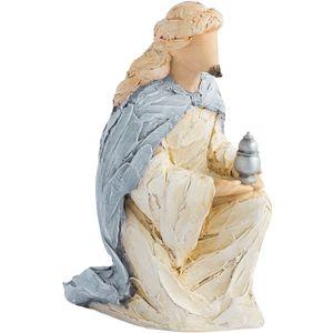 More Than Words Nativity Wise Man Blue (Myrrh) Figurine