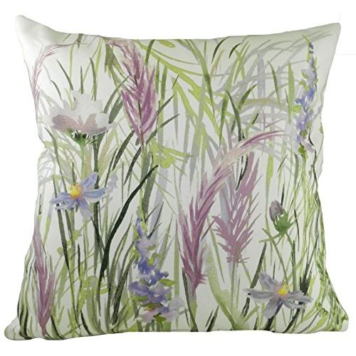 Evans Lichfield Country Manor Pampas Collection Cushion: Lilac 43cm x 43cm
