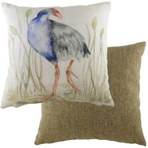 Evans Lichfield Game Birds Collection Cushion: Moorhen 43cm x 43cm