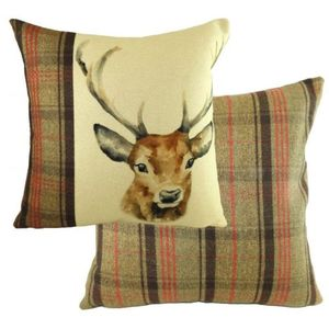 Hunter Stag Cushion (43cm x 43cm)