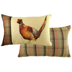 Evans Lichfield Hunter Pheasant Cushion Cover