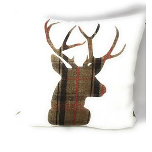 Evans Lichfield Stag Hunter Cushion 17x17""