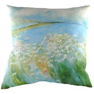 Evans Lichfield Sue Fenlon Collection Cushion: Seaside Daisies 43cm x 43cm