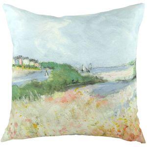 Evans Lichfield Sue Fenlon Collection Cushion: Alnmouth Esturary 43cm x 43cm