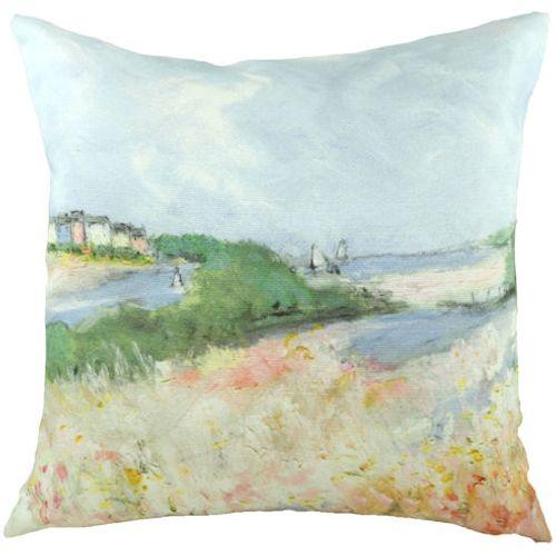 Evans Lichfield Sue Fenlon Cushion: Alnmouth Esturary 43cm