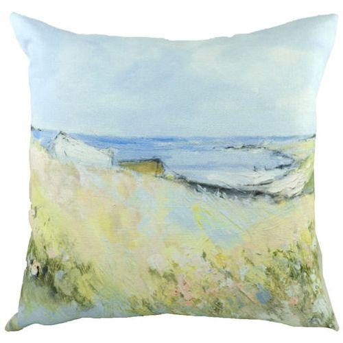Evans Lichfield Sue Fenlon Cushion: Shoreline Boats 43cm