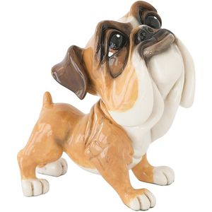 Little Paws Mick Bulldog Dog Figurine