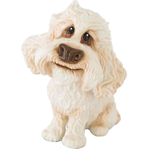 Little Paws Winnie the Poodle Cross Dog Figurine