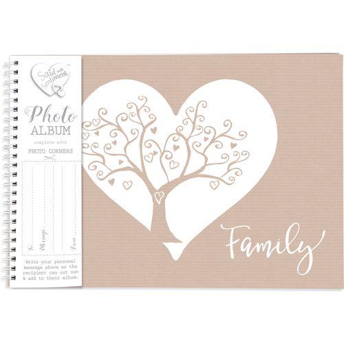 Said with Sentiment Photo Album - Family