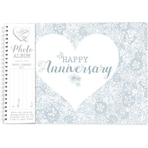 Said with Sentiment Photo Album - Happy Anniversary
