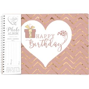 Said with Sentiment Photo Album - Happy Birthday