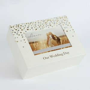 Amore Wedding Day Little Hearts Keepsake Box