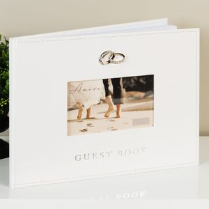 Amore Large Wedding Guest Book - 40 Pages