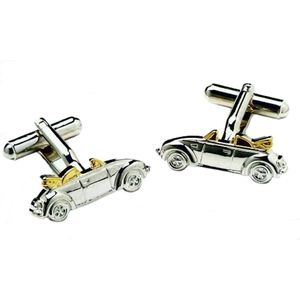VW Beetle Convertible Car Cufflinks