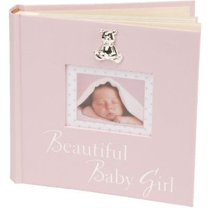 Beautiful Baby Girl Photo Album (Pink) 6x4""