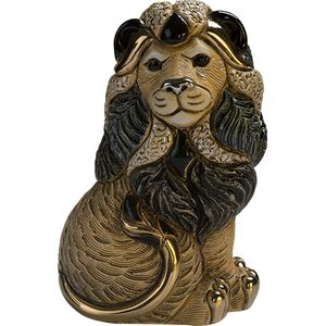 De Rosa Lion Sitting Figurine