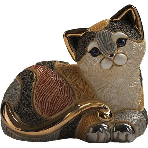 De Rosa Calico Cat Figurine F217