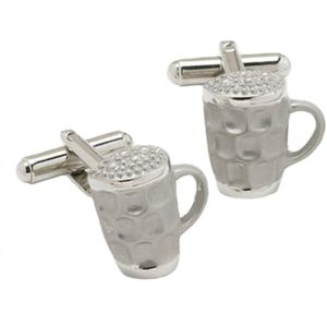 Beer Tankard Glass Cufflinks