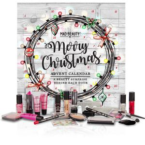 Mad Beauty Advent Calendar - Merry Christmas 24 Cosmetics