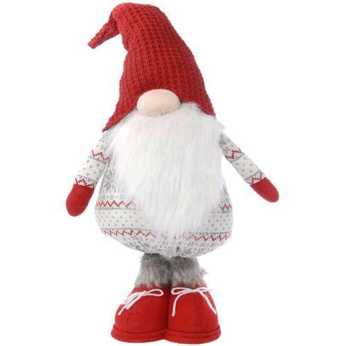 Nordic Pattern Gonk (Red Shoes) Christmas Decoration 70cm Tall