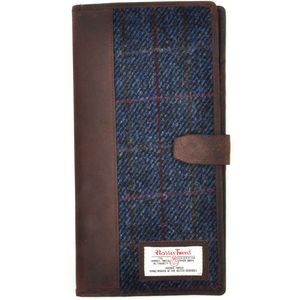 Harris Tweed Travel Document Wallet: Allasdale