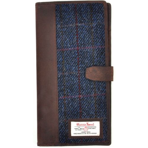 Harris Tweed Travel Document Wallet: Allasdale