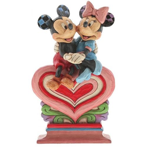 Heart to Heart Mickey & Minnie Mouse Figurine