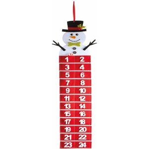 Snowman Felt Advent Calendar