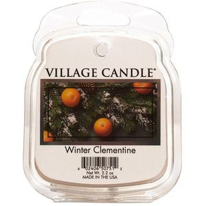Village Candle Wax Melt - Winter Clementine