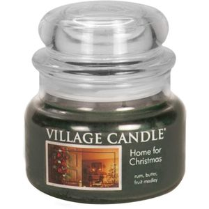 Village Candle 11oz Jar Home for Christmas