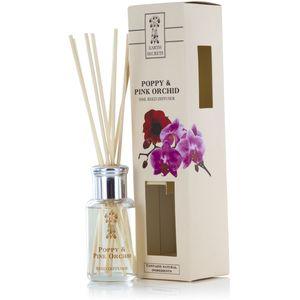 Ashleigh & Burwood Earth Secrets Reed Diffuser 50ml - Poppy & Pink Orchid