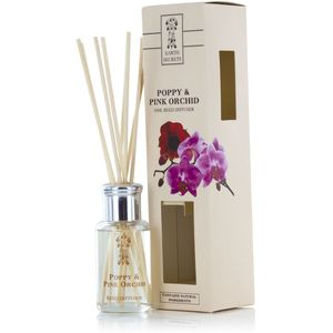 Reed Diffuser - Earth Secrets: Poppy & Pink Orchid