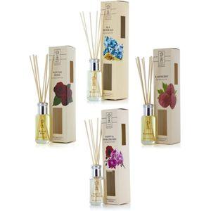 Ashleigh & Burwood Earth Secrets Reed Diffuser Set 4 x 50ml - Floral & Fresh