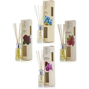 Reed Diffuser Set - Earth Secrets: Floral & Fresh