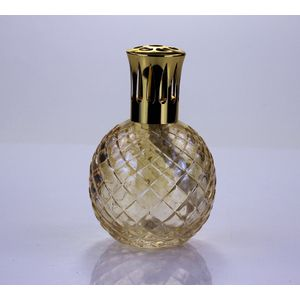Ashleigh & Burwood Fragrance Lamp Peach Glass